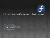 Introduction to Fedora project and Fedora.Next