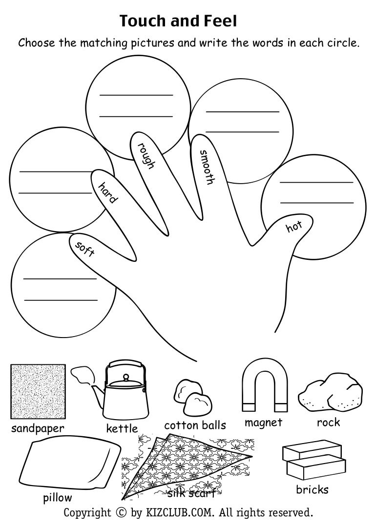 touch and feel - Good Touch Bad Touch Coloring Book