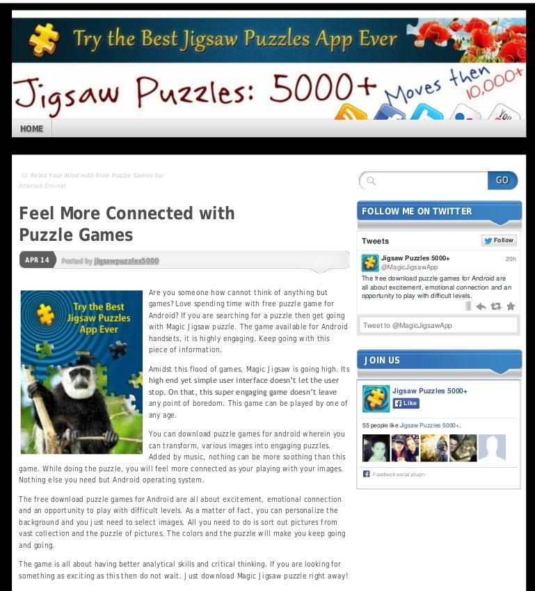 magic jigsaw puzzles online