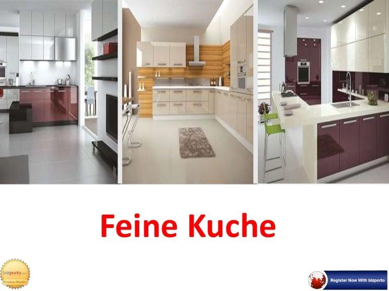 Modular Kitchen and Furniture In Pune - Feine Kuche