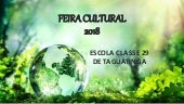 Feira Cultural 2018