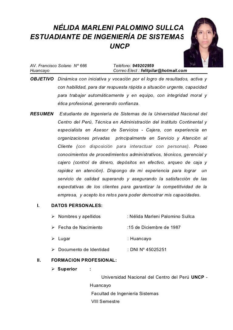 Felicia lazo asesor
