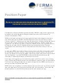 Ferma Position Paper on IMD2