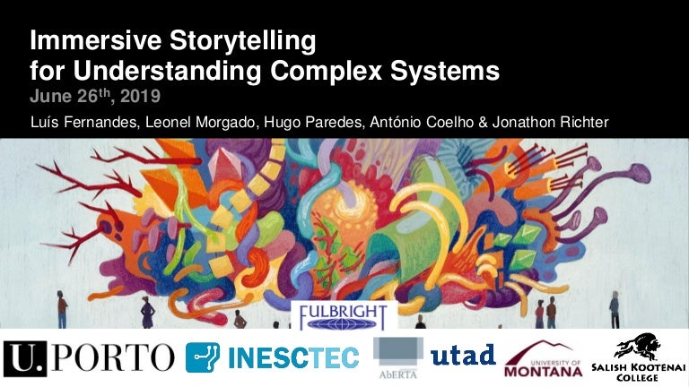 Immersive Storytelling for Understanding Complex Systems