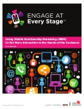Vince Ferraro CMO Council Report Engage at Every Stage