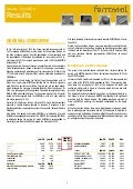 January-June 2014 Financial Results