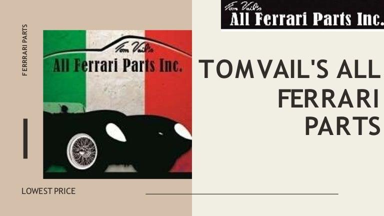 Vintage Ferrari Parts From Tom Vail S All Ferrari Parts