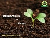 Fertilizer Analysis Lab