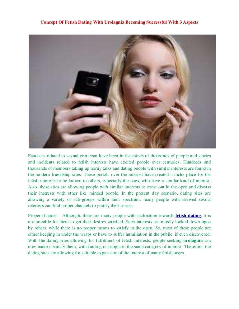 Urolagnia dating senior jewish dating sites