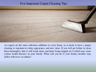 Few important-carpet-cleaning-tips