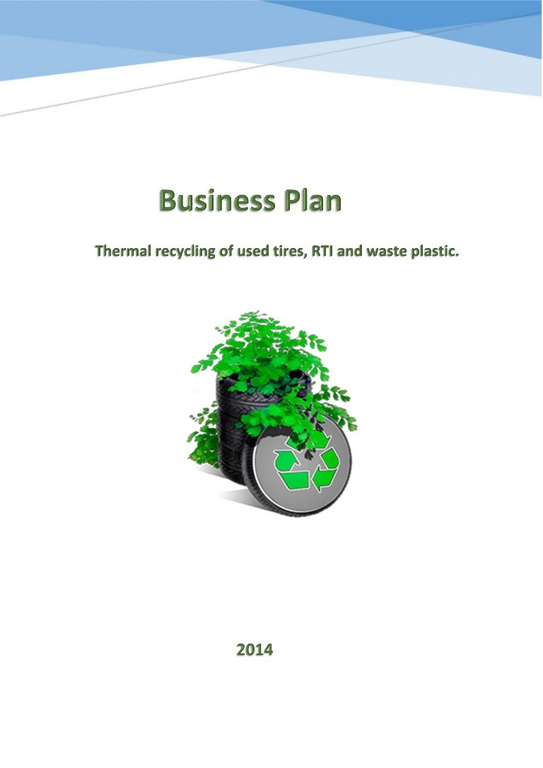 3 Business plan for the disposal of used tires by pyrolysis