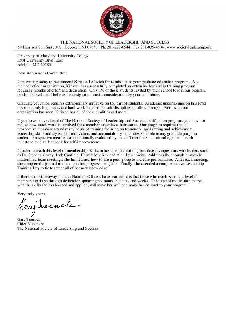 Writing Recommendation Letter For Graduate Student from cdn.slidesharecdn.com