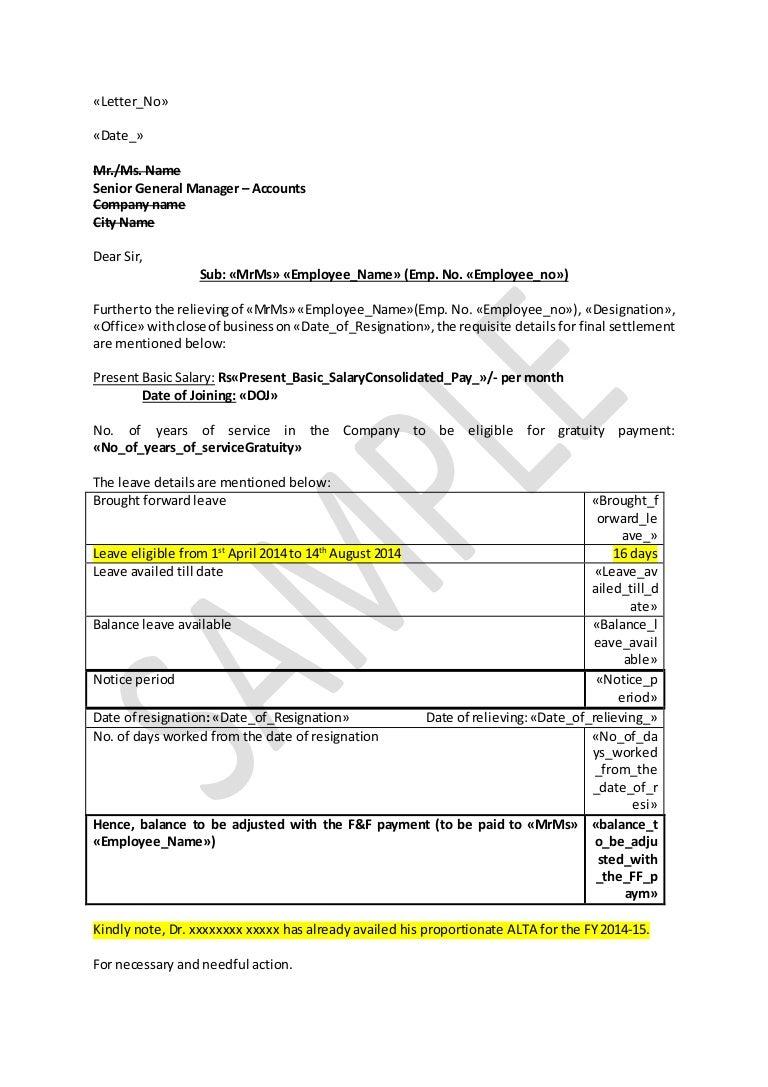 Full And Final Settlement Template from cdn.slidesharecdn.com