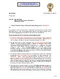 Cover Letter To Shri Kapil Sibal 2nd April 2010