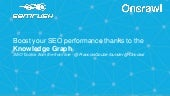 Boost your SEO using the Knowledge Graph