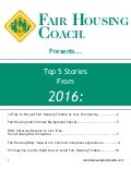 Fair Housing Coach Compendium 2016