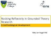 Rocking reflexivity in Grounded Theory research