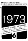 UFMG Provas Antigas 1973 cin6 - Conteúdo vinculado ao blog      http://fisicanoenem.blogspot.com/