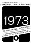 UFMG Provas Antigas 1973 ros - Conteúdo vinculado ao blog      http://fisicanoenem.blogspot.com/