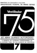 UFMG Provas Antigas 1975 laranja - Conteúdo vinculado ao blog      http://fisicanoenem.blogspot.com/