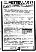 UFMG Provas Antigas 1977 amarela - Conteúdo vinculado ao blog      http://fisicanoenem.blogspot.com/