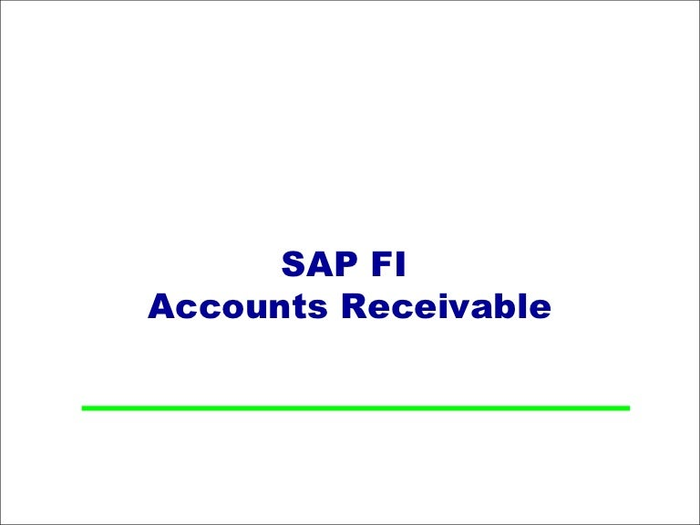 How To Make A Sales Receipt Word Sap Fi  Account Receivable  Part I Solicitors Invoice Template Excel with Invoice Template For Openoffice Excel  Invoice Make Pdf