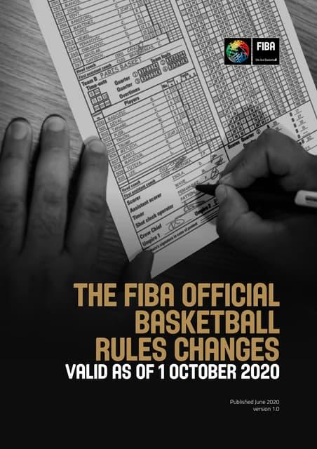 FIBA Summary of Rules Changes (valid-as-of-1-10_2020_june2020_en)