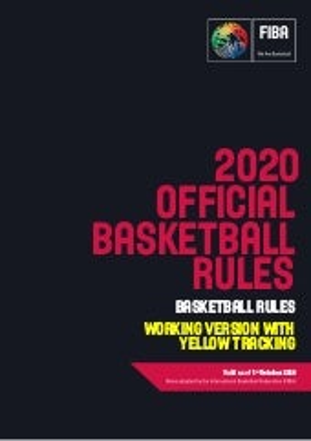 FIBA Official Basketball Rules 2020 (yellowtracking_v1.0)
