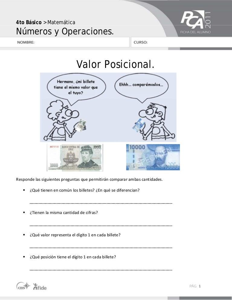 Perfecto Hojas De Trabajo De Matemáticas En El Valor Posicional ...