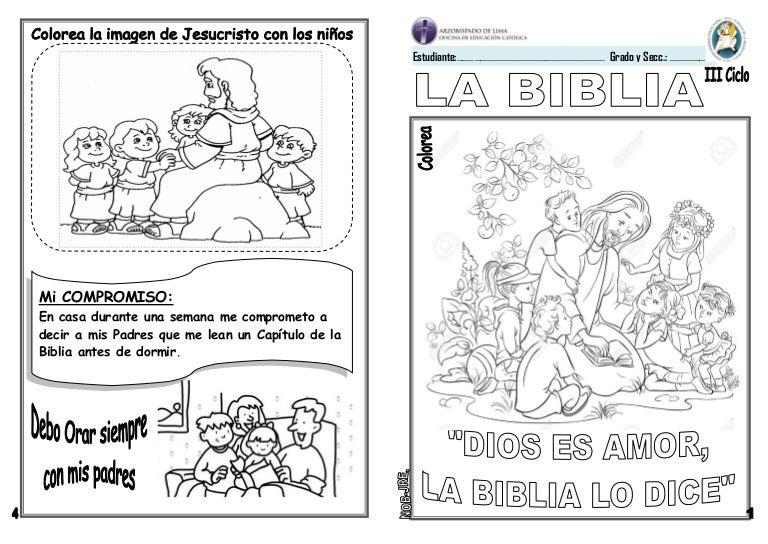 Sagrada Biblia Para Colorear Biblia Bn Dibujos Y Cosas Para