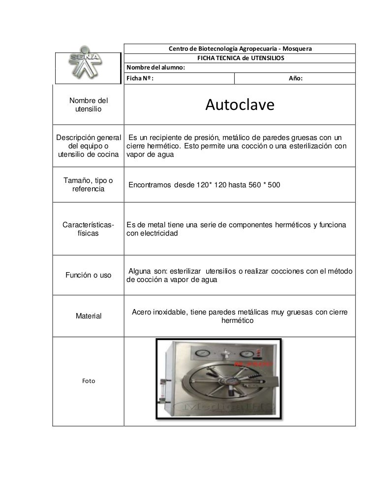 Fichas utensilios completar for Utensilios de cocina y sus funciones pdf
