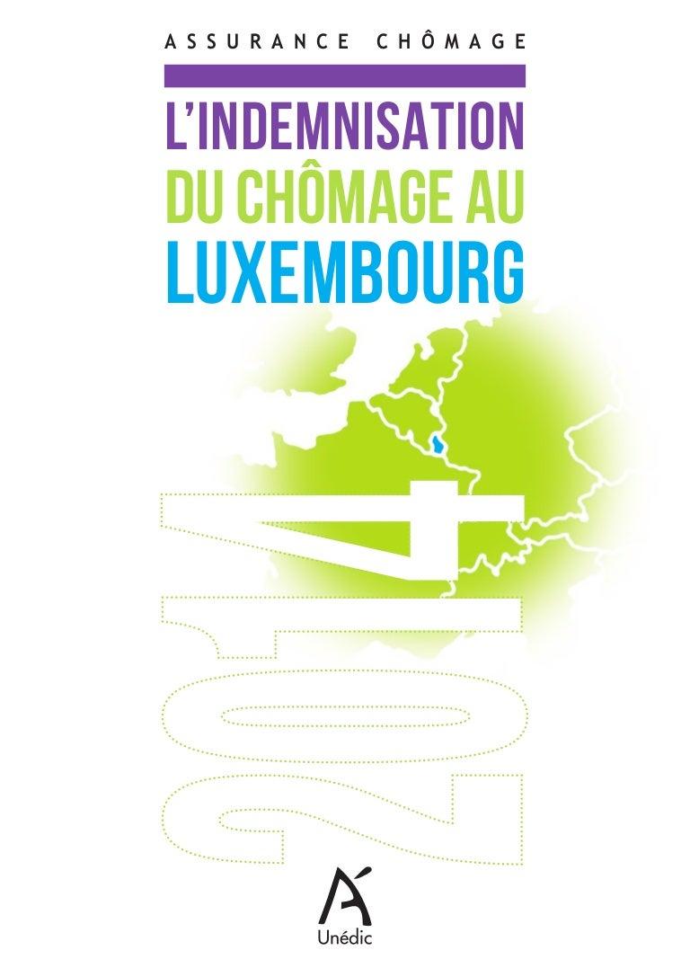 Indemnisation Du Chomage Au Luxembourg