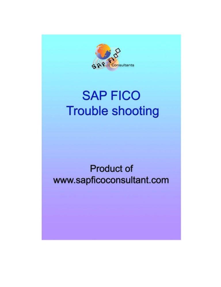 Fico troubleshooting