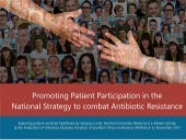 Promoting Patient Participation in the National Strategy to Combat Antibiotic Resistance in South Africa