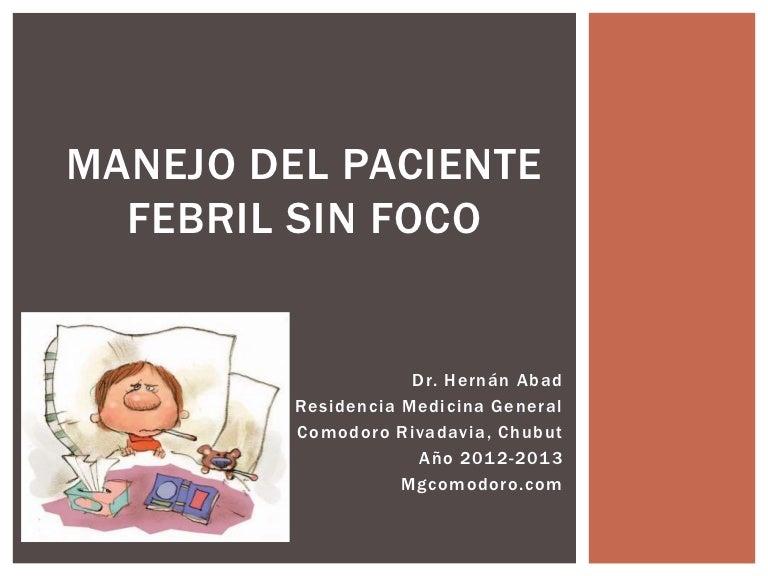 fiebre en bebe de un año sin sintomas