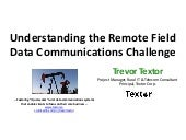 Understanding the Remote Field Data Communications Challenge