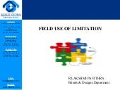 Field use of limitation