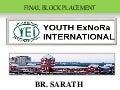 FIELD WORK PRESENTATION, CHENNAI- BR SARATH THOMAS CHAMAKALAYIL