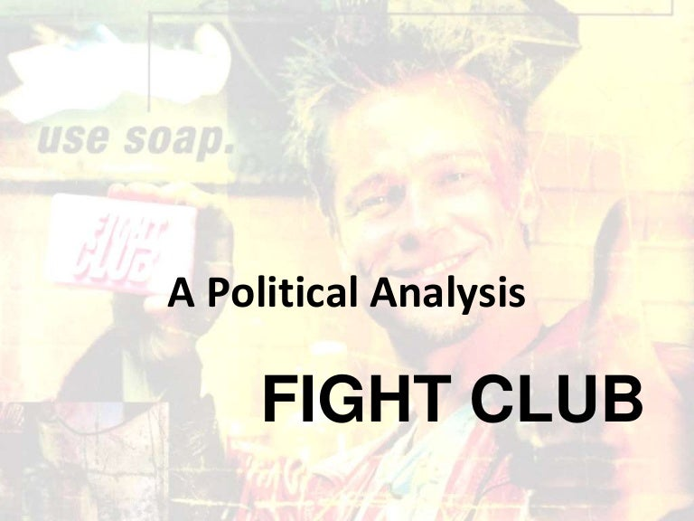 semiotic analysis of fight club The current analysis is a case study that draws on semiotics to exam- ine the logos used by mlb's atlanta braves to understand the connotations of these logos in relation to ethnic- identity politics.
