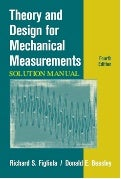 Theory and Design for Mechanical Measurements solutions manual Figliola 4th ed