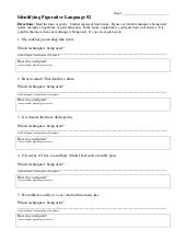 Figurative Language (Grade 4) - Free Printable Tests and ...