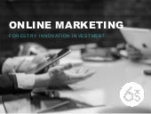 Online Marketing - SEO and Google Analytics