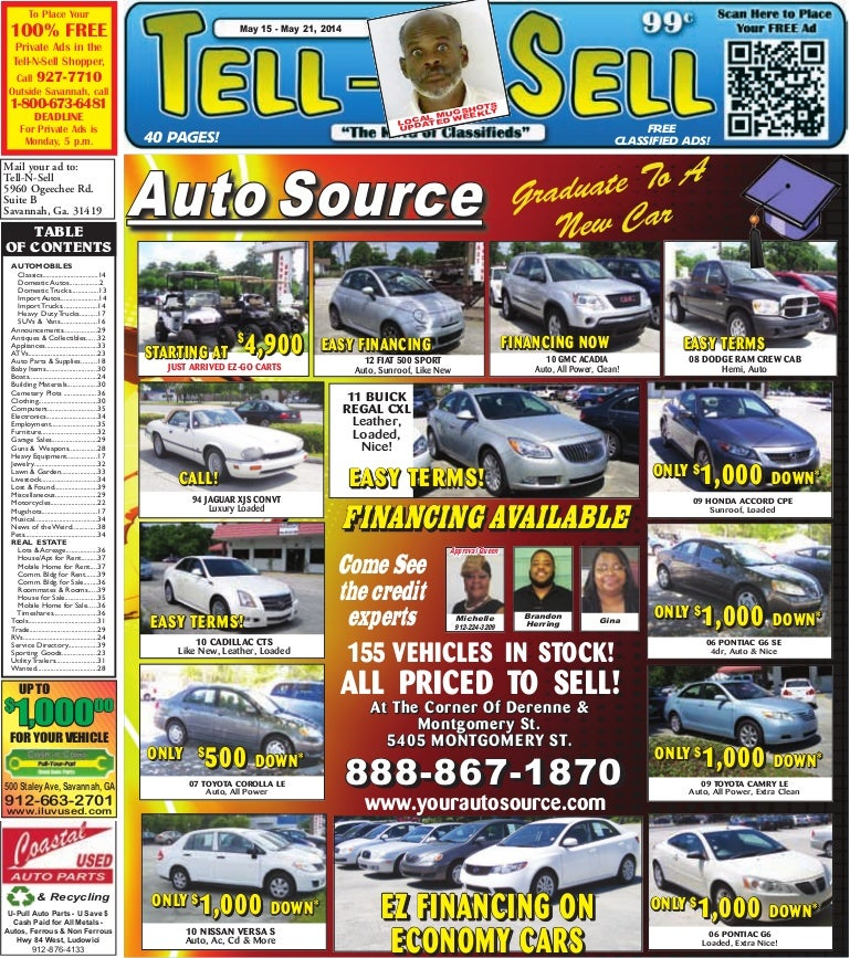 Free Issue - May 15 - May 21, 2014 - Tell N Sell