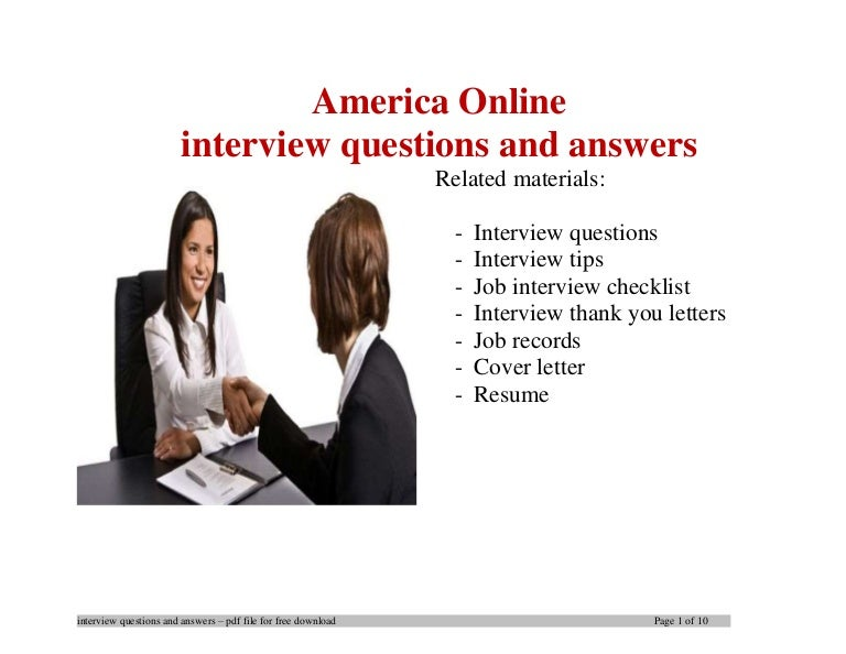America online interview questions and answers file1 1 140424065608 phpapp02 thumbnail 4gcb1398322599 m4hsunfo