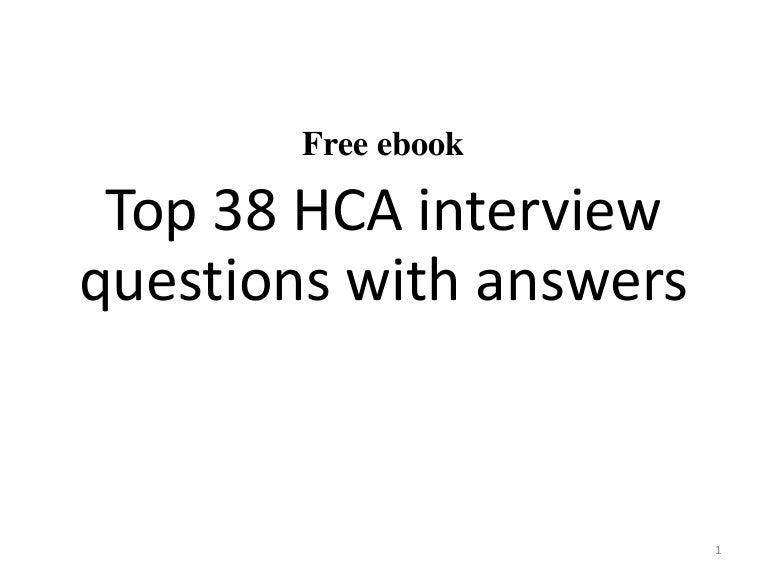 what to wear for a hca interview