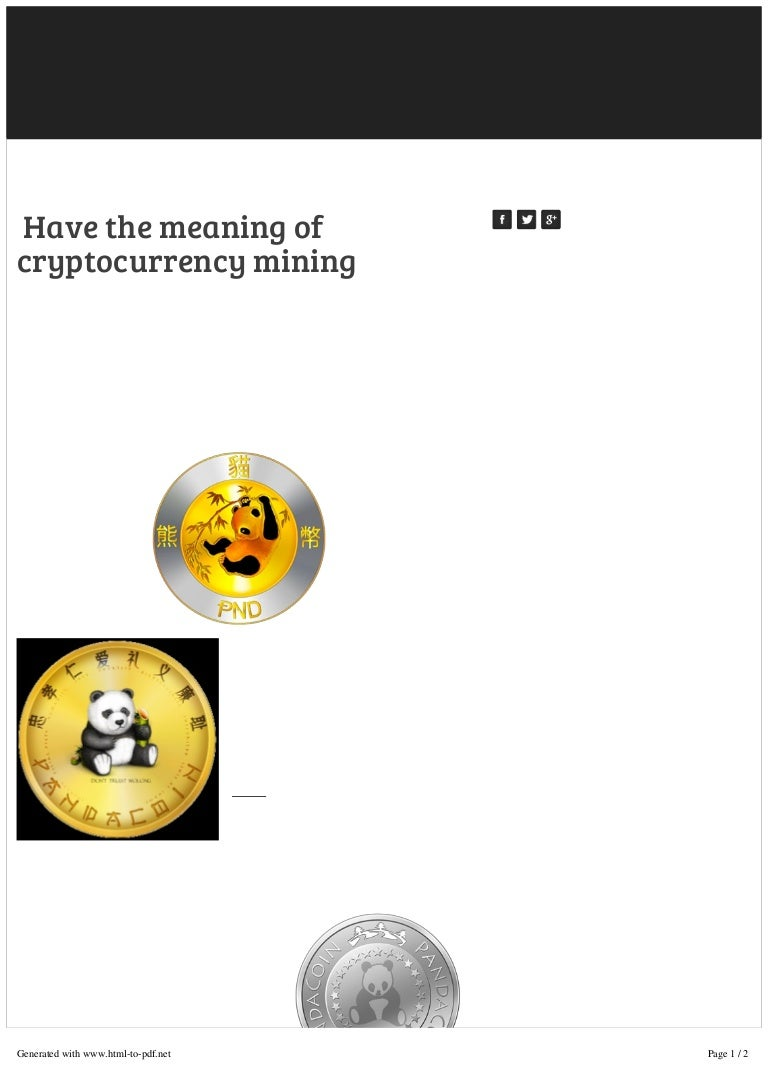 mining meaning in cryptocurrency