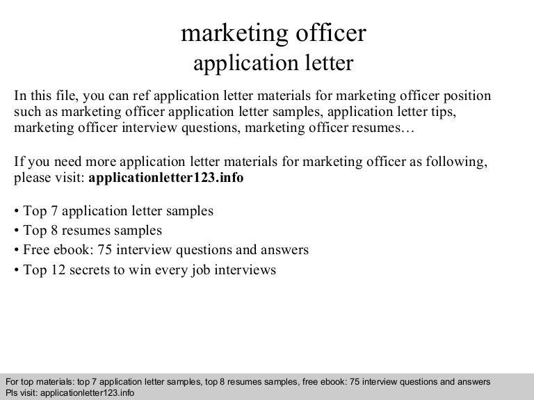 Sample Cover Letter For Marketing Job from cdn.slidesharecdn.com