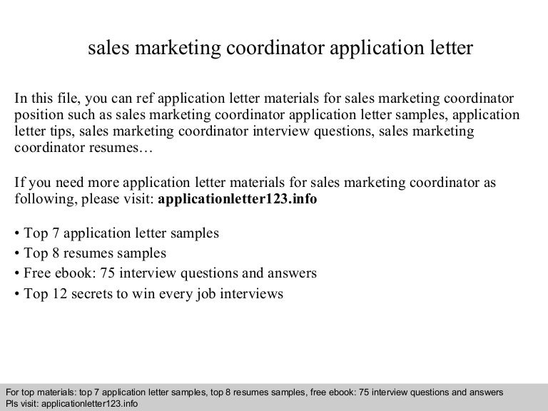filemau2 applicationletter123 140826021128 phpapp01 thumbnail 4jpgcb1409019114 - Marketing Coordinator Interview Questions And Answers