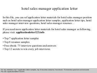 club manager job resumes