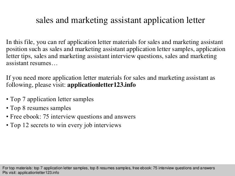 filemau2applicationletter123140827015025phpapp01thumbnail4jpgcb 1409104250 – Marketing Assistant Cover Letter